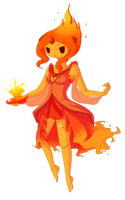Flame Princess by piketta