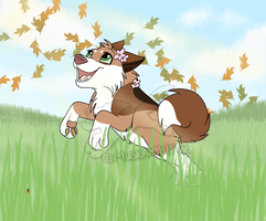 AT/SOW: Running Free by Musicalmutt2