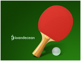 Ping Pong Icon - free psd by nelutuinfo