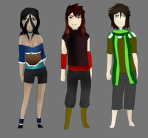 ATLA LOK adoptables (all genders OPEN) by orochiXdemonXshiku