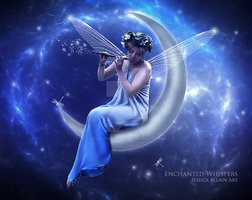 Moon Fairy by EnchantedWhispersArt