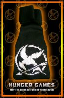 HungerGames Scarf by MadMouseMedia