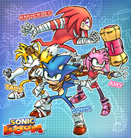 Sonic Boom! My fan art by FrancoTieppo