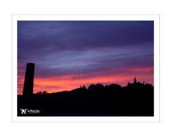 sunset over The Law III by kilted1ecosse