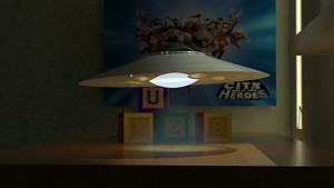 Tiny UFO Preview Animation by Moonfyire101