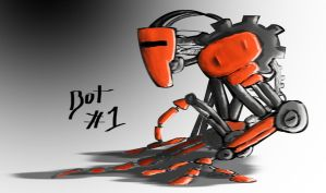 Robot 1 by daecu7
