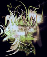 Twist Brushes by kanonliv