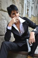 Smoking - Wolfwood cosplay by jolica
