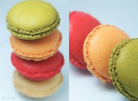 Macarons III by Nora-Sims