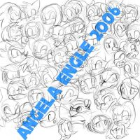 SONIC CHARACTERS by angelsunbomb