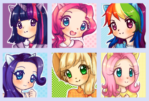 My little pony - Gijinka by valeriachan