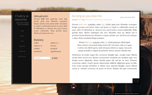FREE Blogger template Little wind by stupid-owl