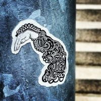 Doodle Sleeve Sticker by Mr-Crease