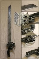 Attack On Titan 3DMG Sword by Bayr-Arms