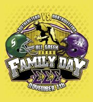Family Day Football tee event by Bmart333