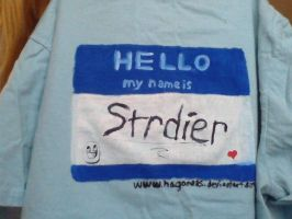 Hello my name is STRDIER by Hagane85