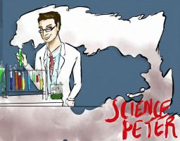 """Commission, """"Science Peter"""" by TheJung"""