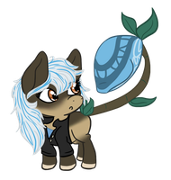 Corsair and Sterling Chibi by EventidePonies