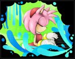 Amy the pianist of blues by Miiukka