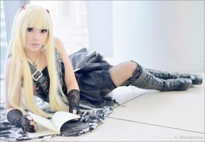 Misa Amane of Death Note by belleloca