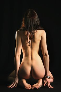Nude study 10 by Pixelles