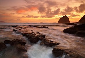 One Second at Cape Kiwanda by coulombic