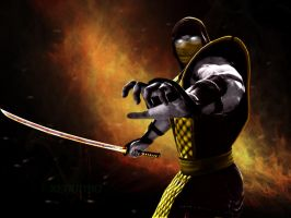 Mortal Kombat - Scorpion by Xenon90
