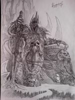 The Lich King by kostadinio