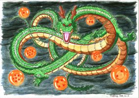Shenron, Shenlong: The Holy Dragon by Zackary