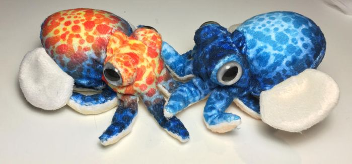 DIY Cuttlepuses over at Poofybird! by plushabilities