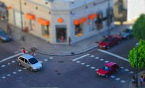 Tilt Shift en La Plata by MultimediaNaranja