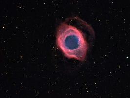 The Eye of God - NGC 7293 by DoomWillFindYou