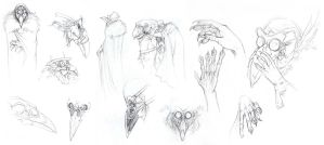 Plague Doctors by hibbary