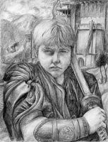 My Brother, the Warrior by arvalis