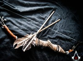 ASSASSINS CREED 3 COSPLAY. (BOW AND ARROWS) by JO-Cosplay