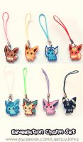 Eevee Charms by Soul-Soar