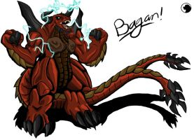 Godzilla Animaed: BAGAN by Blabyloo229