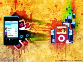 ipod colour style by injured-eye