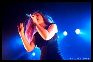 Simone Simons. Live Norway 24 by AmCreationss