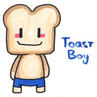 Toast Boy by YouCanDrawIt