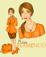 Miss Flamenco by InternalHappyDance