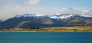 Snow peaks by Lucie-Lilly
