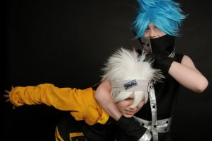 Soul and BlackStar - Soul Eater by identity-tim