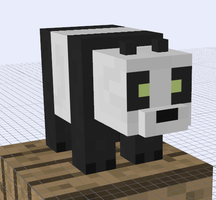 Minecraft Mob Ideas - Panda by RedPanda7