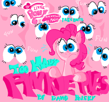 Too Many Pinkie Pies title card by seriousdog