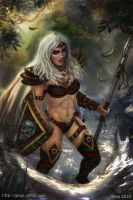 DnD pinup challenge by geors