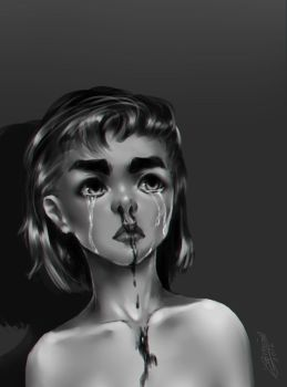 the crying girl by luchoriolu2