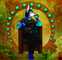 Happy Birthday Maverick by Kumori-is-here