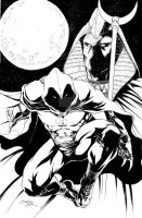 Moon Knight commission by danielhdr