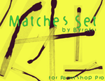 Matches set of 7 by byrnfri-resources